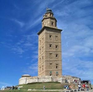 римский маяк