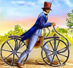 Велосипед Карла Драйса