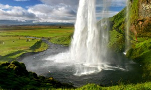 Гейзер в Исландии