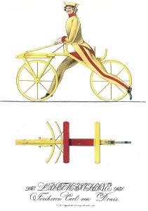 Первый велосипед Карла Драйса