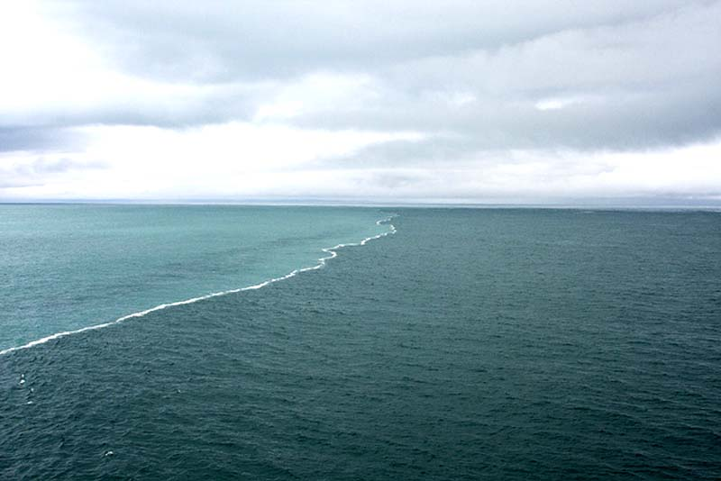 граница морей