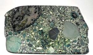 Типичный образец кимберлита. Западная Якутия