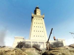 Александрийский маяк (реконструкция)