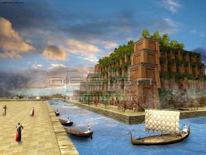 Вавилон - Висячие сады Семирамиды