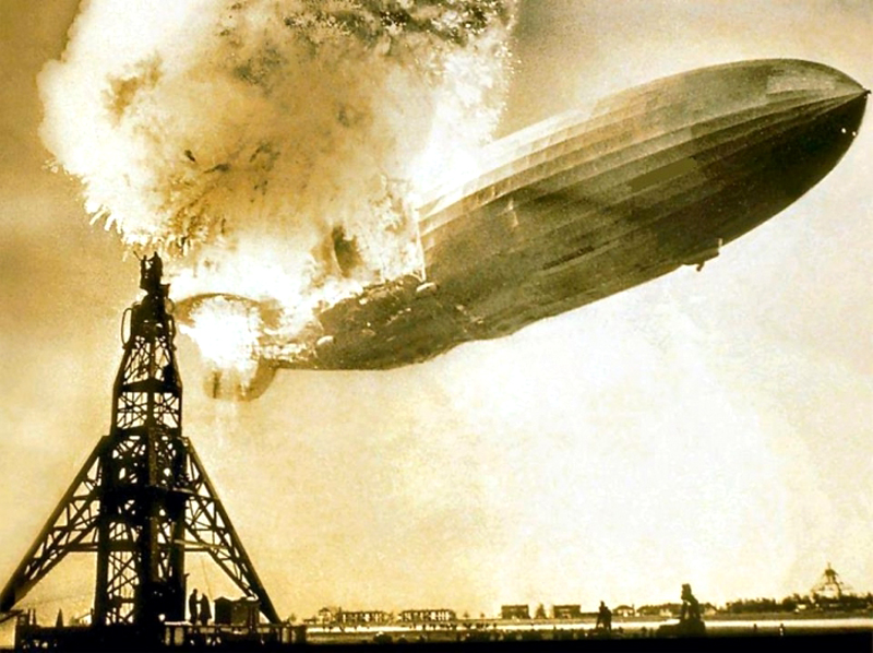 hindenburg disaster Did explosive paint rather than hydrogen cause the hindenburg disaster learn whether explosive paint caused the hindenburg disaster rather than hydrogen.