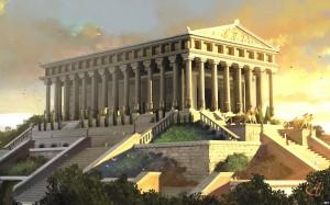 Храм Артемиды в Эфесе (реконструкция)