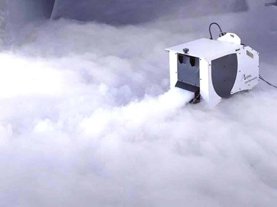 Как сделать туман из сухого льда