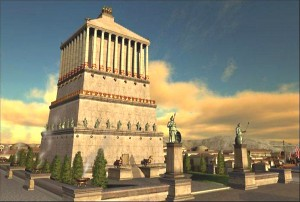 Мавзолей в Галикарнасе (реконструкция)