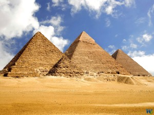 Комплекс египетских пирамид