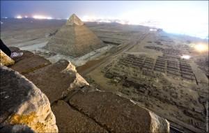 Пирамида Хефрена, сына Хеопса.