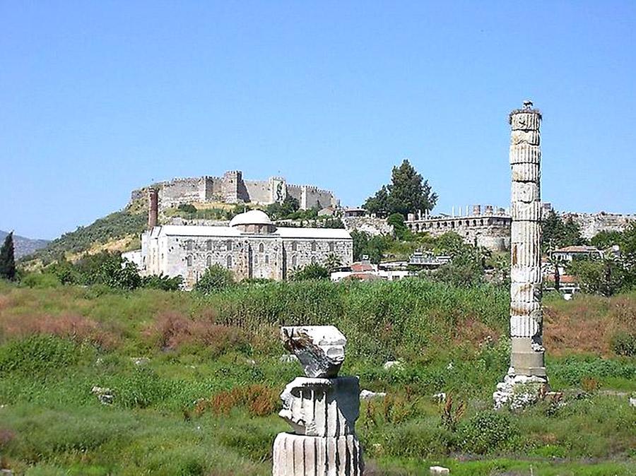 храм Артемиды в наши дни