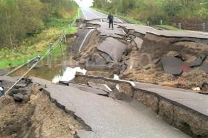Землетрясение в Калифорнии - апрель 2010