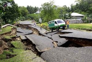 Землетрясение в Филипинском городе Себу