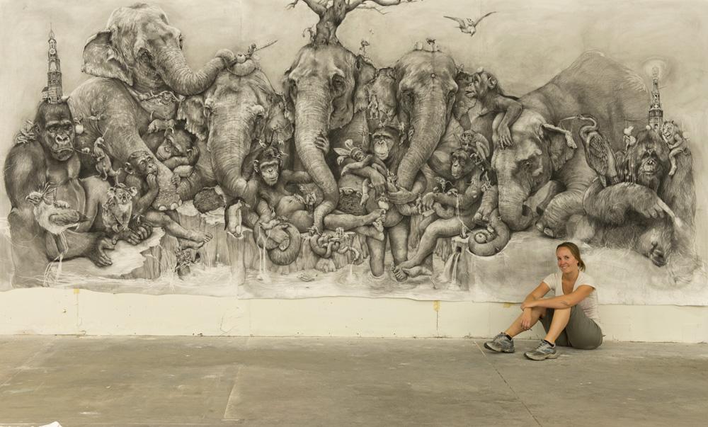 Рисунки карандашом от Адонны Карэ