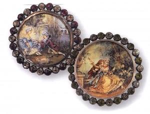 пуговицы, Франция конец 18 века