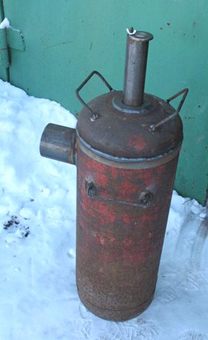 Бубафоня из газового баллона своими руками