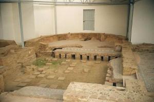 Гипокауст под римской виллой