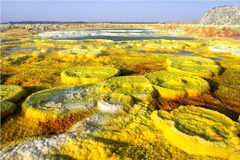 лавовое поле вулкан Далол